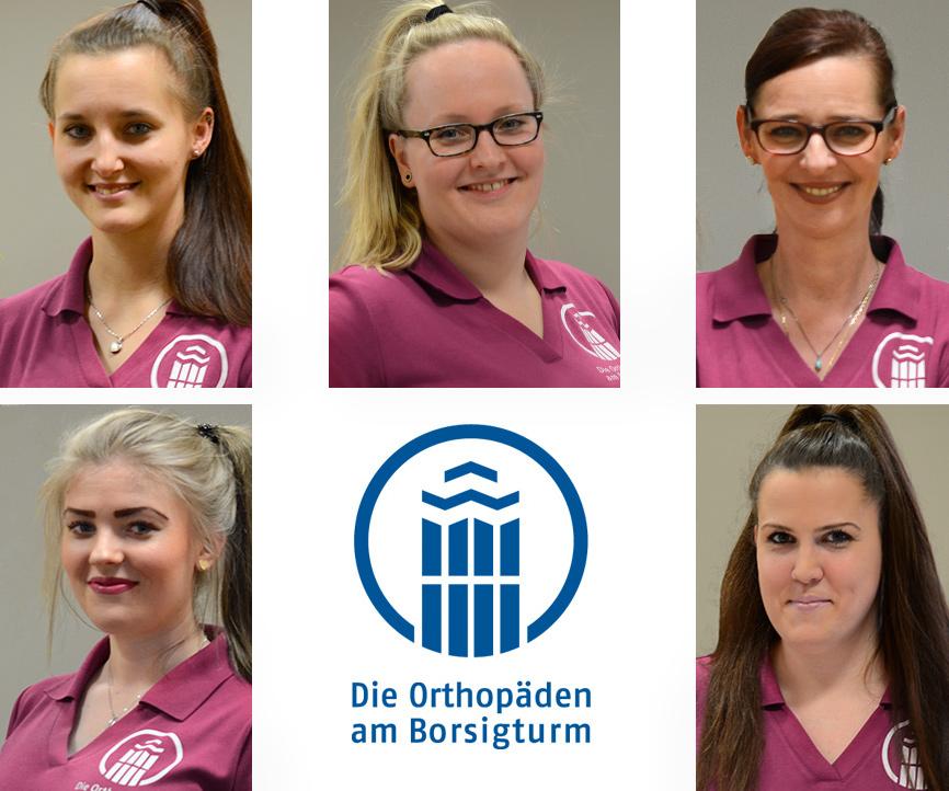 Bild Praxisteam Porträts - Die Orthopäden am Borsigturm